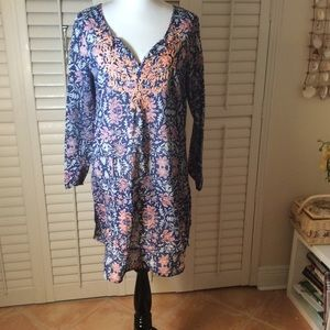 Old Navy Embroidered Cotton Dress Size L